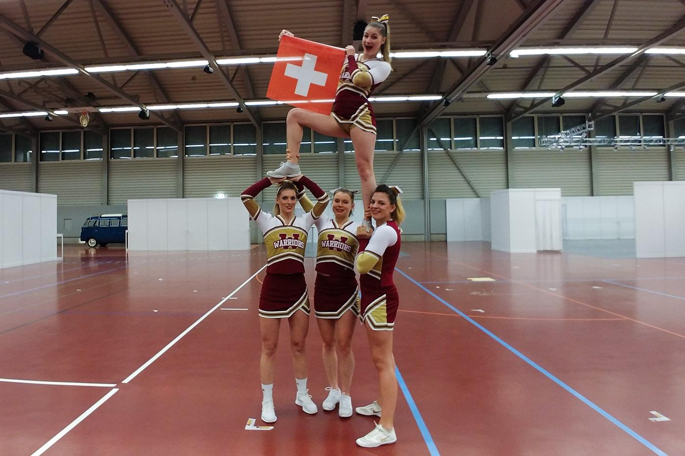 Swiss Cheerleading