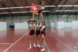 Swiss Cheerleading
